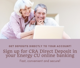 Manage your CRA direct deposit information!