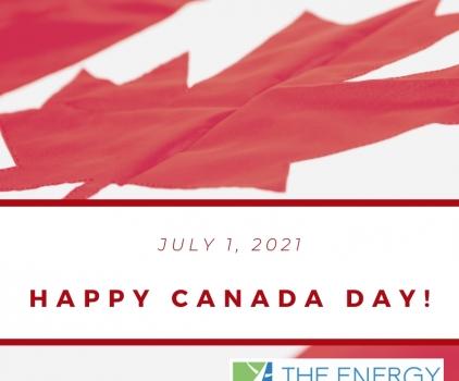 Canada Day closure!