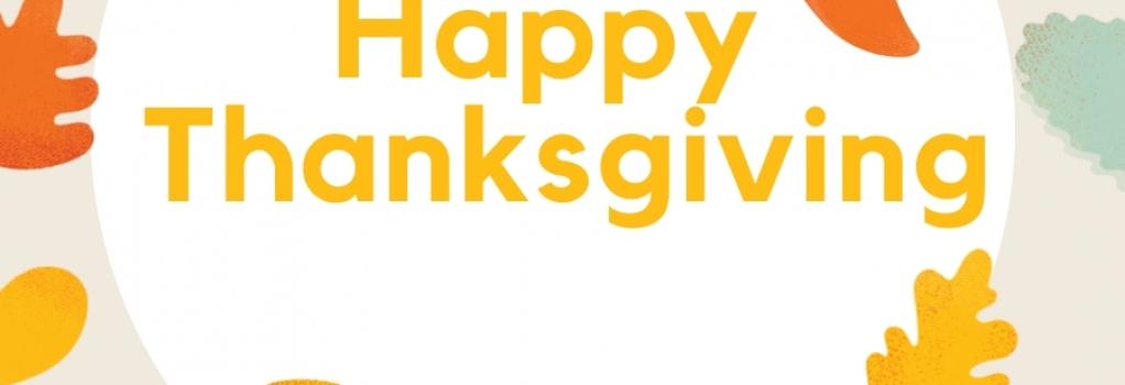 Thanksgiving Branch Closure