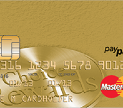 Gold CHOICE REWARDS® MasterCard® Credit Card